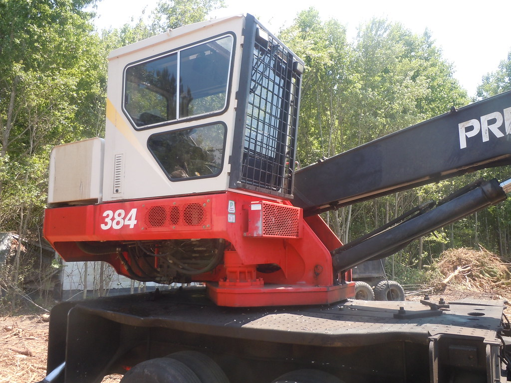 2005 Prentice 384 TMS Loader for Sale at Forestry First | Flickr