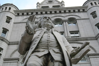 Ben Franklin at the Old Post Office | by rachaelvoorhees