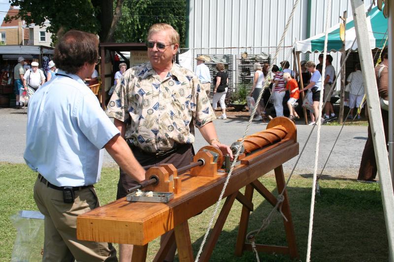 Boring a Rifle Barrel, Kutztown Festival | The Kentucky Long