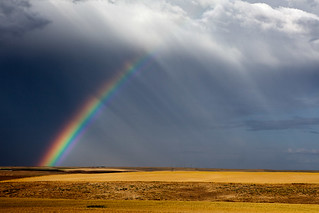 Rainbow at Oregon Raceway Park, Grass Valley, OR | by .curt.