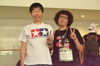 三日目:たかいさんとjune29   by IMAZU Asami