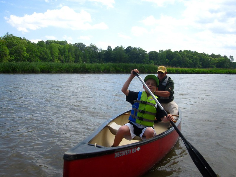 Chippokes Canoe Trip