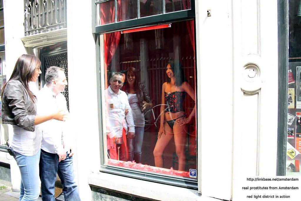 Korean prostitute in red light district miari