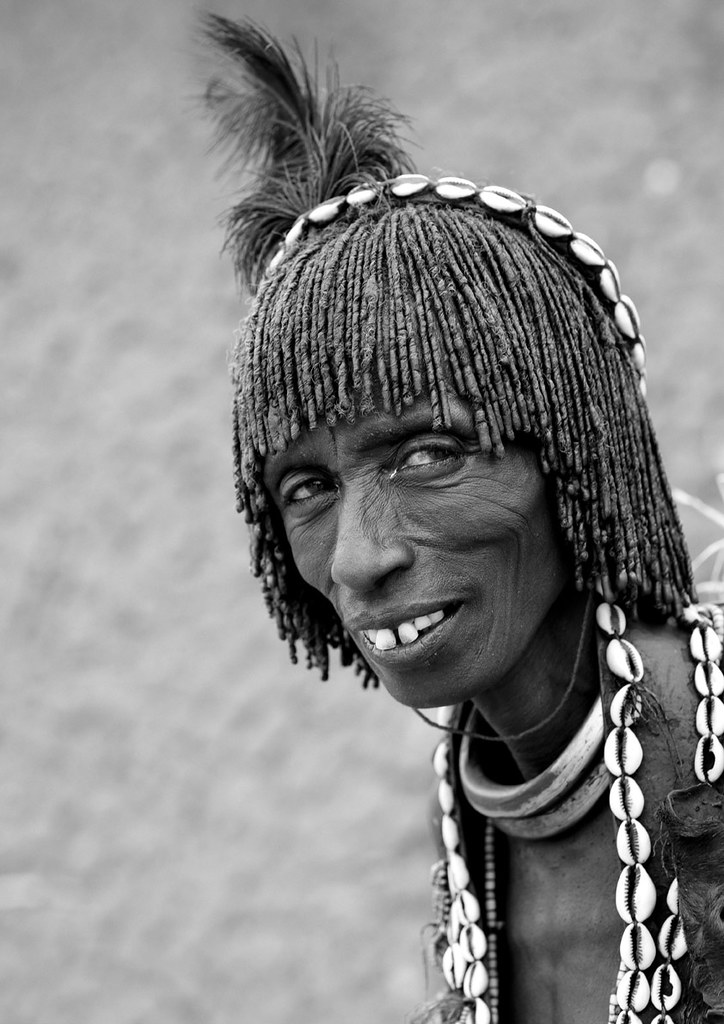 Hamer woman in Turmi - Ethiopia