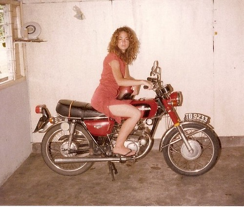 My First Motorcycle , Kemaman, Malaysia, 1979