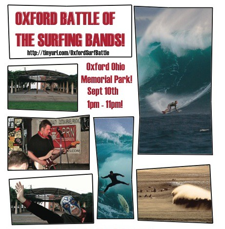 2011 Oxford Battle of the Surfing bands top | by midwestsurfguy