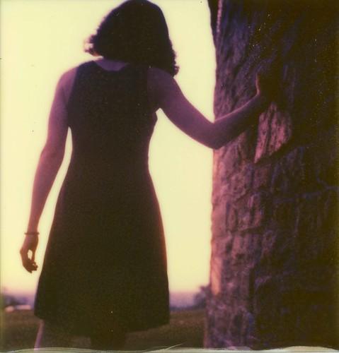 park sunset portrait film project polaroid sx70 sundown dusk instant impossible 2011 roidweek px70