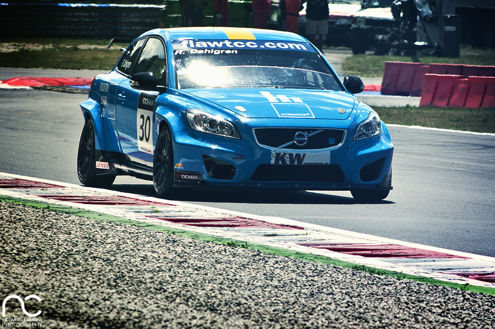 Got Camber?   The setup on this WTCC Volvo C30 by Polestar R