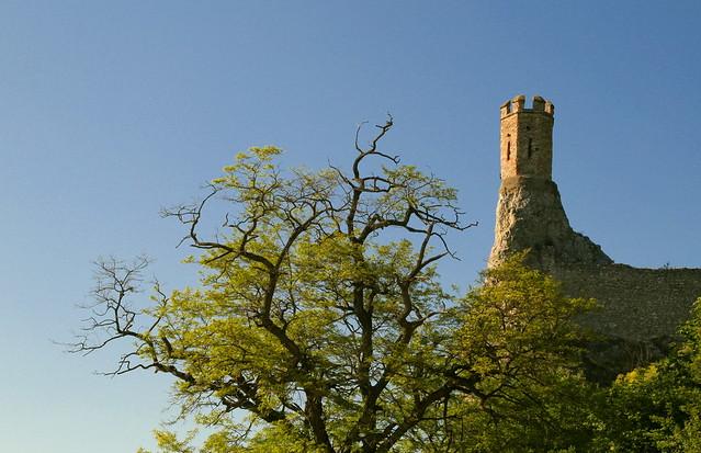 Devin Maiden Tower in Spring A