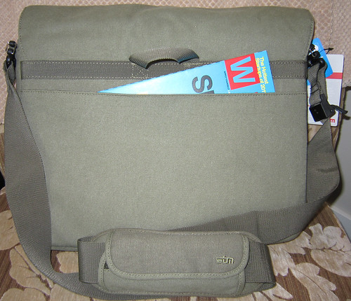 Scout Laptop Messenger by STM - back pocket | by ~kate~