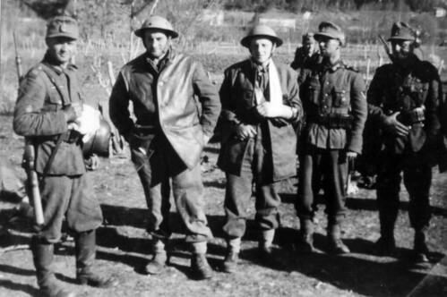 Engelske soldater tatt til fange etter kampene om Pothus, Saltdalen
