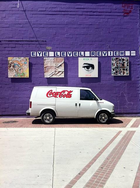 Coca-Cola Van underneath the Eye Level Review