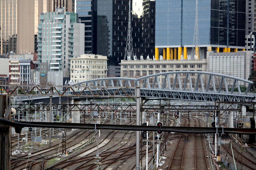 Former Jolimont Railway Yards, Melbourne, Australia by Chris&Steve