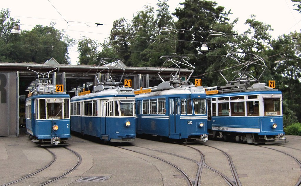Tram Museum Zürich - Museumslinie 21