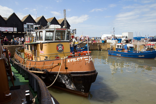 X-Pilot in Whitstable Harbour