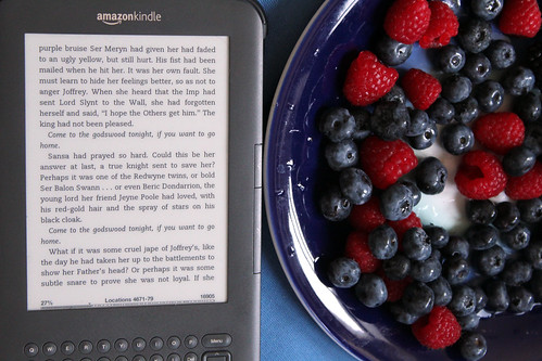 Day 212: Books and Berries | by quinn.anya