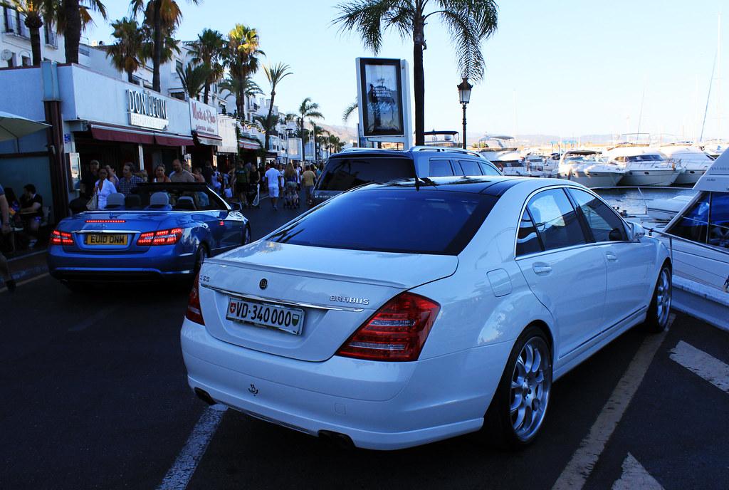 Mercedes S55 Brabus | Marbella, Mercedes S55 Brabus