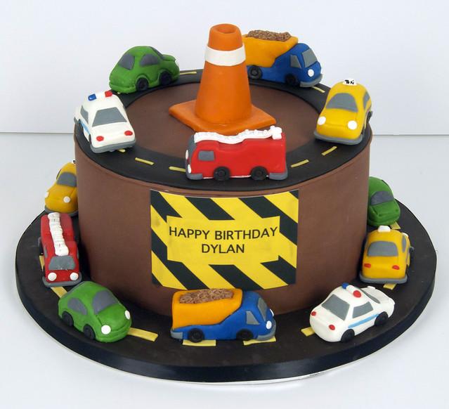 BC4048 - construction birthday cake toronto
