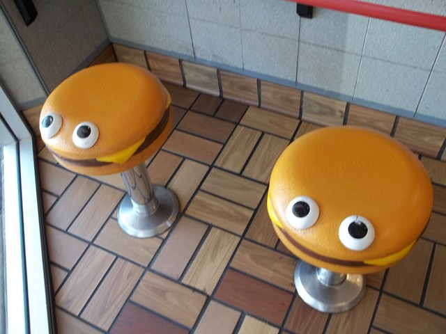 Vintage McDonaldland Stools