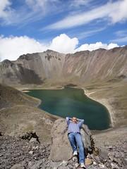 Nevado de Toluca @ Lago del Sol (Sun Lake)