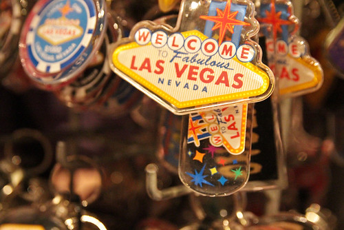 Las Vegas Sign Keychains 2011 Summer Vacation California Las Vegas July 24, 201119   by stevendepolo