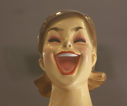 happy mannequin