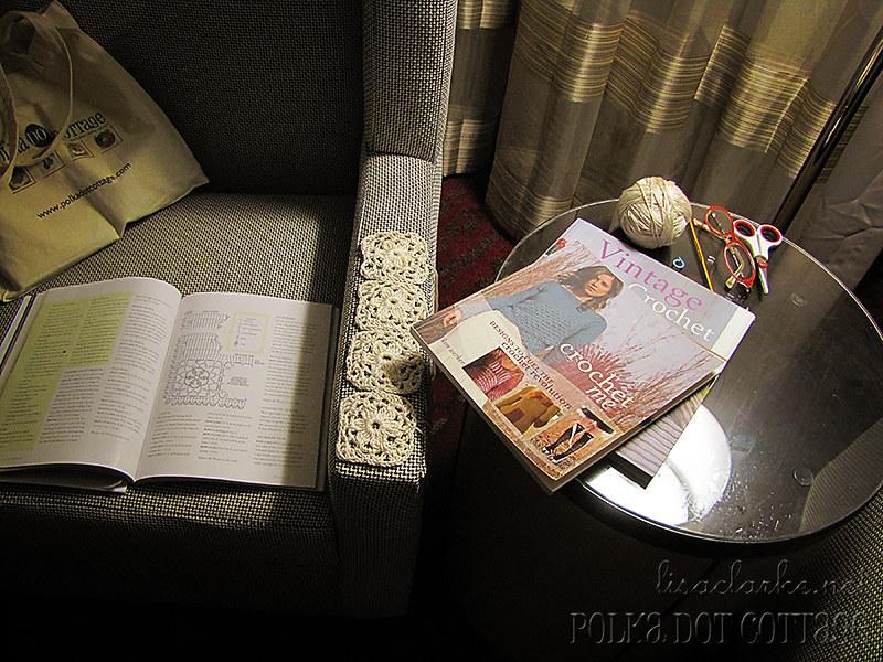 Cozy corner in the hotel