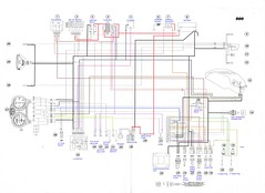 2000-01 ducati monster 900 i e electrical wiring diagram