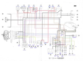 2000 01 ducati monster 900 i e electrical wiring diagram flickr rh flickr com