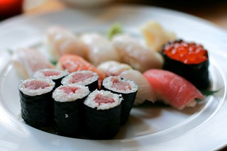 chef's selection sushi, from nobu next door | by amlamster