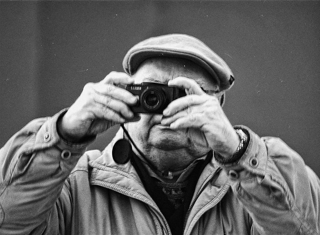 Oldness with Camera in Hands