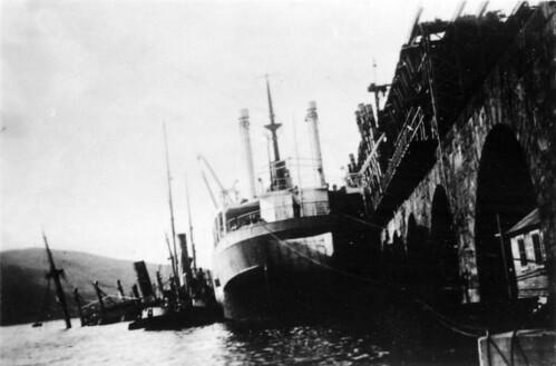 Narvik havn, 1940