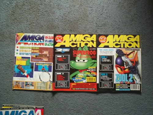 Amiga Action Magazines | by Jibijib