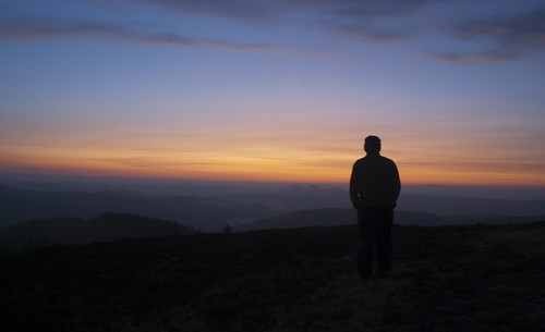 mountains silhouette sunrise dawn scotland moors scottishborders eildons