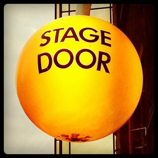 The Old Vic stage door, Webber St, London SE1 | by lucabelletti