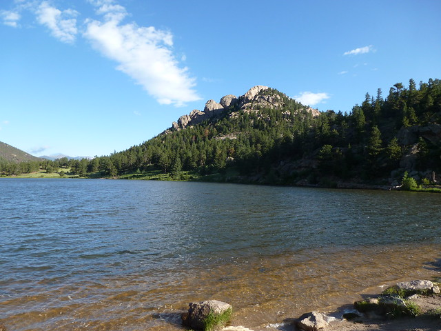 On the shores of Lily Lake