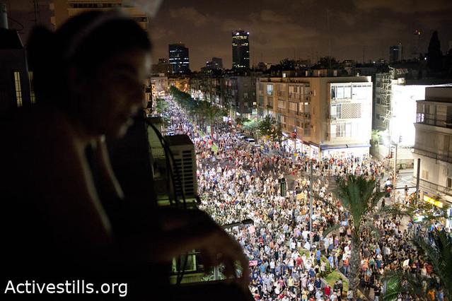 Tent city protest, Tel Aviv