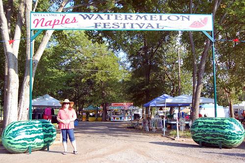 watermelon texas fest festival easttexas naples naplestexas brandonmiller rhondamiller