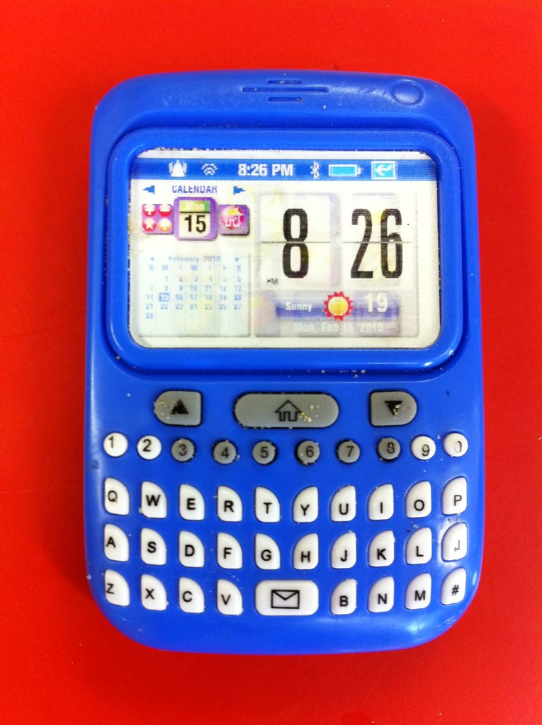 Toy BlackBerry Smartphone | Toy phones lag real phones by a … | Flickr