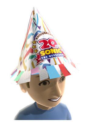Sonic Anniversary XBLA Avatar Items