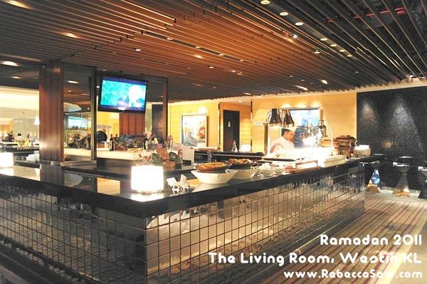 The Living Room Westin Kl Buffet