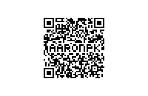 aaronpk QR code