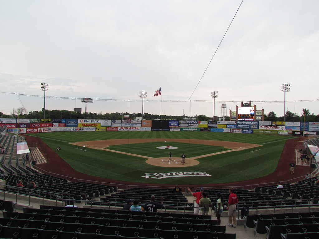 Home Plate to Center at TD Bank Ballpark -- Bridgewater, NJ, August 13, 2011