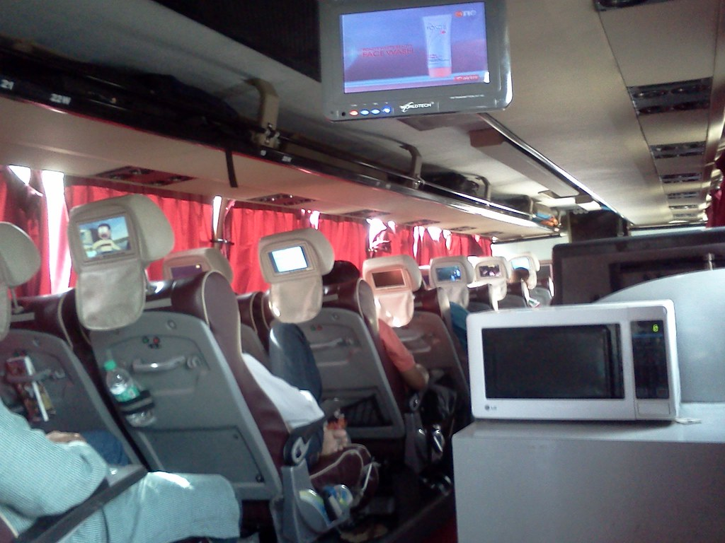 Delhi Jaipur Super Luxury Bus Operated By Rsrtc Having