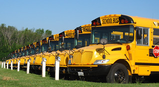 School buses | by John Picken