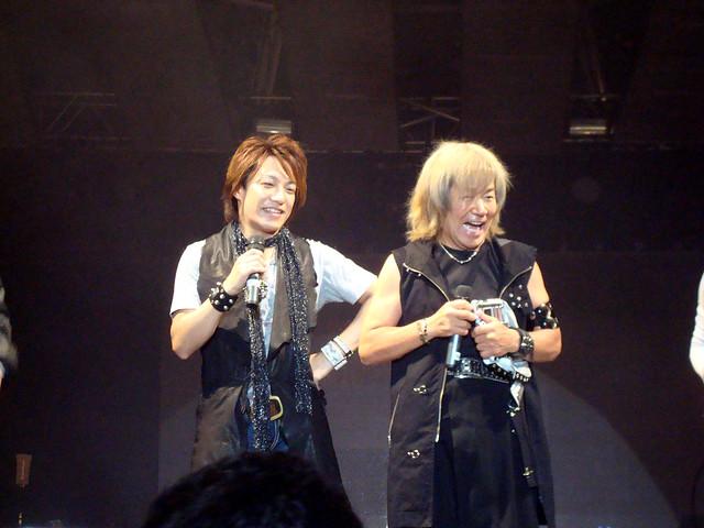 YOFFY e Akira Kushida live @ Anime Friends 2011 - São Paulo, Brasil