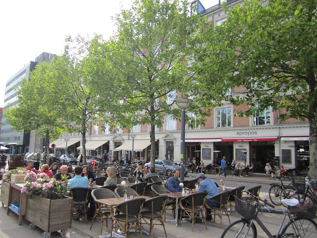 Summer cafes in Copehagen