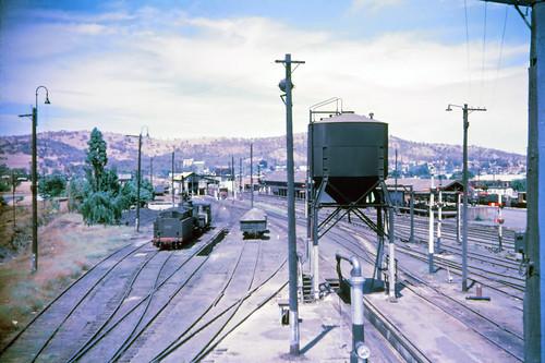 history film station industrial transport tracks australia slide trains scan steam nsw signal railways cootamundra kodachromex halinasuper35x 35mmfilmslrcamera canonpixmamg8150