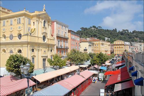 Le cours Saleya (Nice)   by dalbera