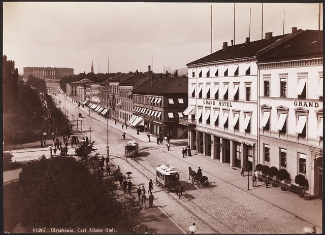 0126. Christiania, Carl Johans Gade